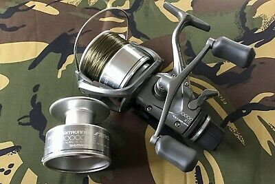 New Shimano Super Aero 10000XTE Baitrunner, Unused  With One Spare Spool Used. • 90£