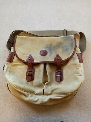 Barbour Liddesdale Fishing Bag Large. Canvas And Leather.  • 32£