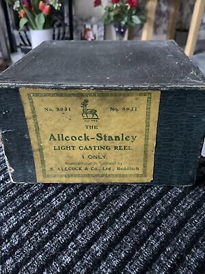 Allcock  Stanley  Light Casting Reel • 49.99£