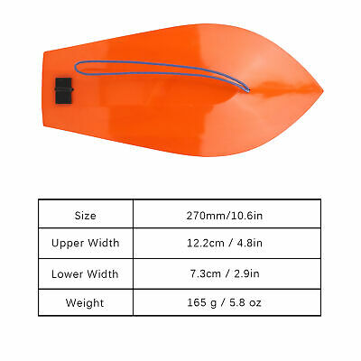 270mm/10.6in Lightweight Plastic Trolling Diving Board Tackle For Fishing Boat • 11.07£