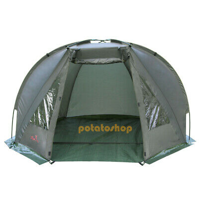 Carp Fishing Bivvy Day Shelter Tent Quick Erect Outdoor Tackle Drizzle 1-2man • 35.99£