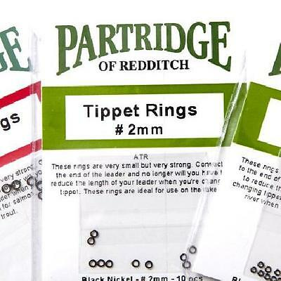Partridge Tippet Rings | 1.5mm, 2mm, 3mm | Fishing Tippet Rings, Fly, Game, Sea • 3£