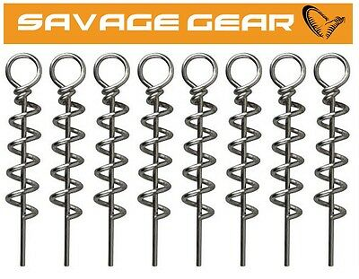 Savage Gear Corkscrews New 2020 For Soft Lures  Crazy Price • 4.49£