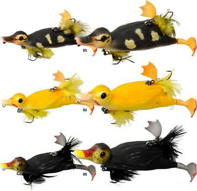 SAVAGE GEAR 3D SUICIDE DUCK SURFACE LURE  FOR PREDATORS    Crazy Price • 12.99£