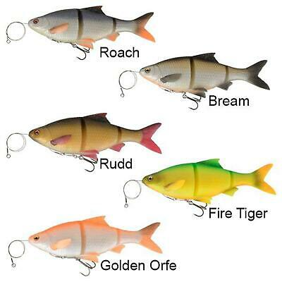 SAVAGE GEAR NEW 3D LINE THRU ROACH  READY TO FISH  Crazy Prices • 6.99£