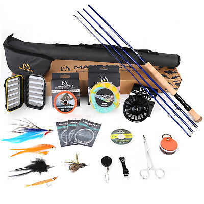 Maxcatch Saltwater Fly Fishing Rod Combo Kit:8-10wt Fly Rod And Reel Outfit • 144.50£