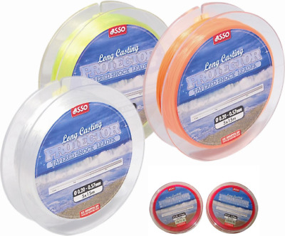 Asso Long Casting Protector Tapered Shockleader Shock Leader All Sizes & Colours • 8.99£