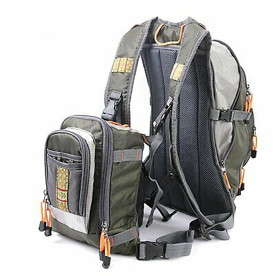 Maxcatch Fly Fishing Vest Pack Fishing Vest/Fishing Sling Pack/Fishing Backpack • 48.59£