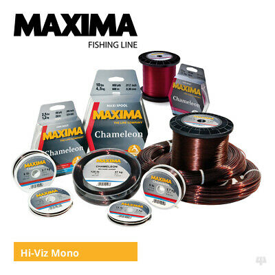 Maxima Chameleon Mainline - Carp Pike Cod Coarse Sea Fishing Monofilament Line • 6.25£