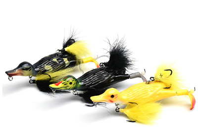 Suicide Duck Lures - Pike Zander Catfish Fishing Tackle Savage Suicide Gear 3D • 8.99£