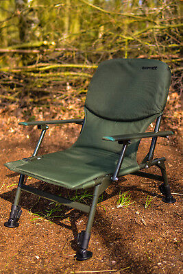 Superior Arm Chair, Lightweight, Extra Padded,Fishing, Camping,  FREE P&P • 44.99£