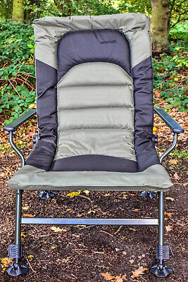 DELUXE Wide Boy Chair, Extra Wide Seat, Recliner, Carp, (XC005) *FREE P&P* • 64.99£