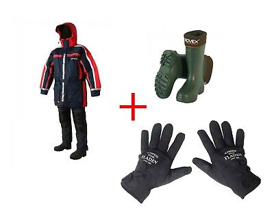 Daiwa SAS 2 Piece Flotation Suit With Thermal Boots & FREE Neoprene Gloves  • 159.99£