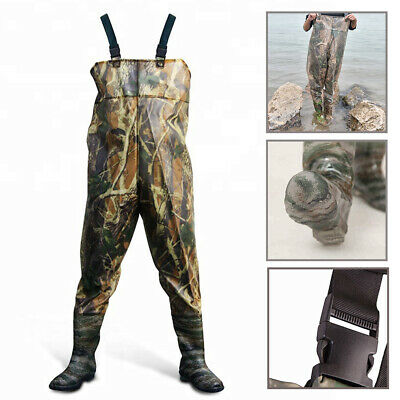Waterproof Waders Camouflage For Fishing Leisure Water Gardening Or Agriculture • 21.99£