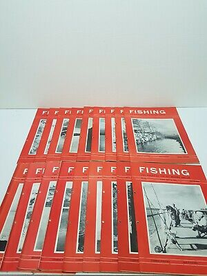 Vintage Fishing Weekly Angling  Magazine Nos. 1-18 Published 1963 Feb - June • 39.99£