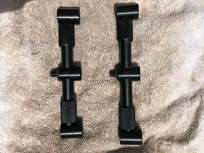 Fox Black Label 3 Rod Adjustable Buzz Bars • 29£