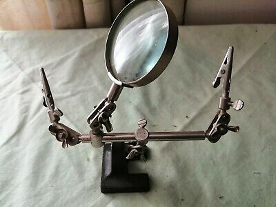 Vintage Fly Tying Double Vice • 25£