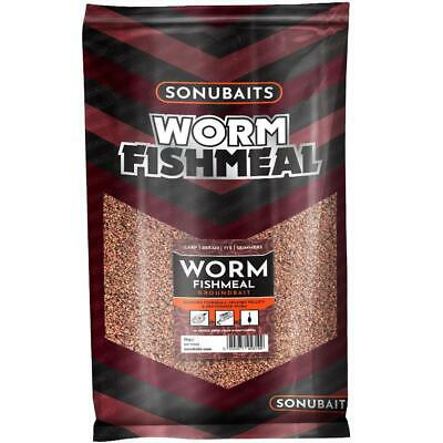 Sonubaits NEW Worm Fishmeal Coarse Fishing Groundbait 2kg S0770002 • 9.95£