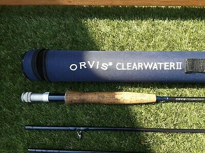 ORVIS CLEARWATER 11.  8'6  #5 Fly Rod  • 90£