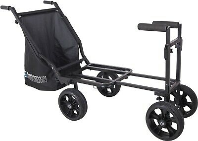 New & Improved 2019 MAP X4 MK2 Extending Fishing Barrow Trolley IN STOCK SB0076 • 250£
