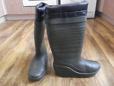 Fishermans Thermal Wellies With Removeable Thermal Liners UK 8/9. • 15£