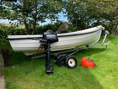 Fishing Boat Orkney Spinner 13 Foot Boat And Engine  • 1,850£