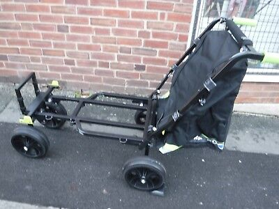 Matrix 4 Wheel Transporter Match Fishing Barrow Trolley Best On Market  • 159£
