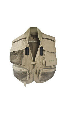 Snowbee Geo Fly Fishing Vest SIZE LARGE GREEN • 85.99£
