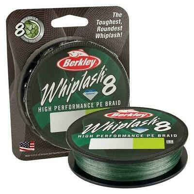 Berkley NEW Whiplash 8 Strand Braid Moss Green 300m • 27.95£