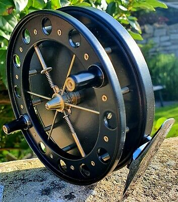 Fred Crouch Jet Match Aerial 4½ X⅝  Centrepin Reel Traditional Retro Barbel Carp • 250£