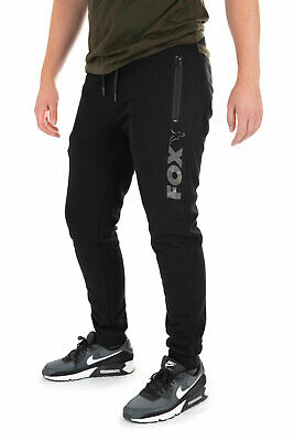 Fox BLACK/CAMO LEG PRINT JOGGER CARP FISHING JOGGER NEW ALL SIZES AVAILABLE  • 32.99£