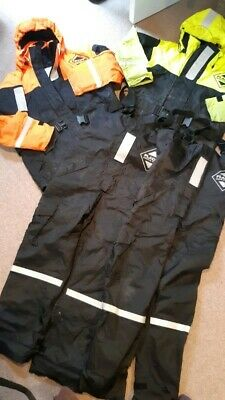 Two Sets Of Fladen Floatation Jackets And Bib + Braces, Good Condition, M And S • 100£