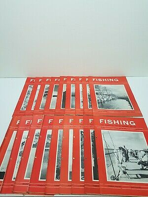 Vintage Fishing Weekly Angling  Magazine Nos. 1-18 Published 1963 Feb - June • 26.39£