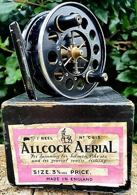 Allcock Aerial 3¾ X1  C815 With Original Box Severn Wye Trent Traditional Barbel • 175£