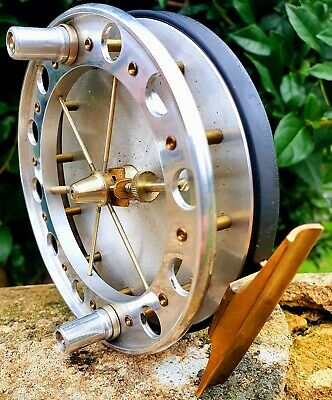 Specialist Tackle Aerial Centrepin Reel 4½ X⅝  Severn Trent Wye Barbel Chub Carp • 225£