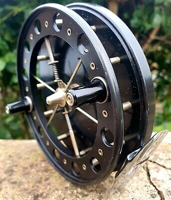 Allcocks Match Aerial 4½ X⅝  Centrepin Reel Traditional Collectable Retro Barbel • 225£