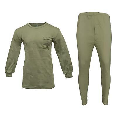 Army Pullover Trouser Original Military Top Bottom Spanish Thermal Base Layer XL • 18.50£