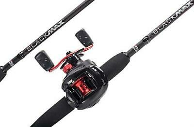 Abu Garcia NEW Lure Fishing Black Max Low Profile Rod & Reel Combo 1376703 • 69.99£