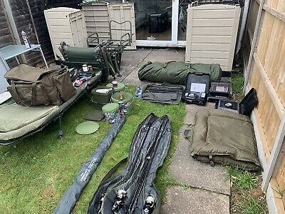 Carp Fishing Tackle Full Set Up • 800£