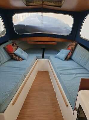 18ft-Cabin-Cruiser-Project-Boat-engine-included • 1,550£