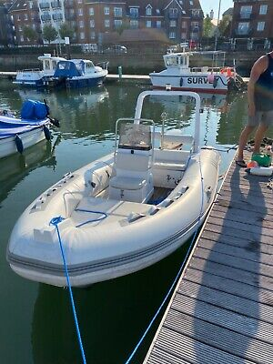 Marine Europe Rib 4.8m 50hp Evinrude Engine Very Little Use • 11,500£