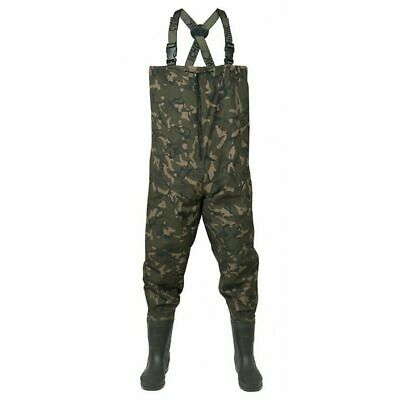 FOX CAMO Lightweight Chest Carp Fishing Waders - All Sizes  • 69.99£