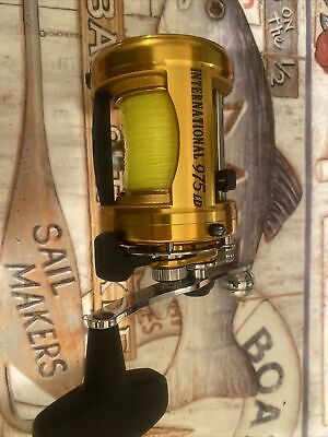 Penn Gold International 975 Ld Lever Drag Fishing Reel. Vvgc **made In Usa*** • 250£