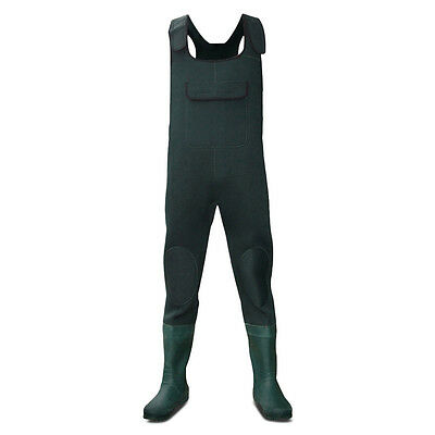 Dirt Boot® Green Neoprene Chest Waders 100% Waterproof Coarse Fishing Muck Wader • 69.99£