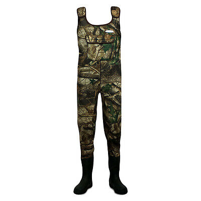 Dirt Boot® Camo Neoprene Chest Waders 100% Waterproof Coarse Fishing Muck Wader • 79.99£