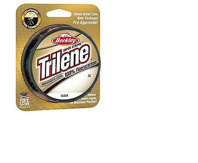Berkley Trilene 100% Fluorocarbon - 200YDS - All Sizes • 9.99£