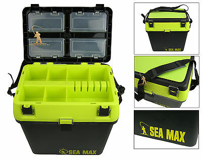Sea Fishing Seat Box. Tackle & Rig Box RODDARCH SEA MAX Genuine Original Product • 21.99£