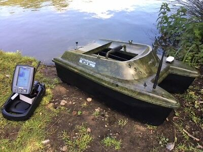 Anatec Catamaran Devict Oak Bait Boat + Toslon TF640 Finder & GPS  • 1,948£