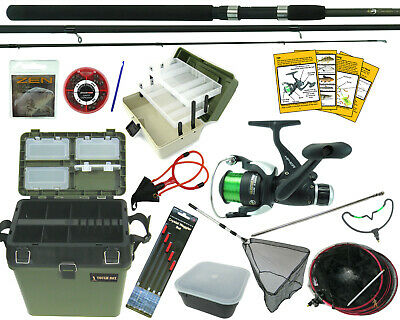 Complete Starter Fishing Set Kit + All The Tackle You Need To Go Fishing  • 88.99£