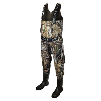 Dirt Boot® Mallard Marsh® Camo Neoprene Chest Waders 100% Waterproof Waders • 99.99£